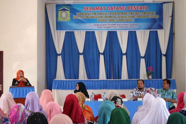 Bunda PAUD aceh Besar Hadiri pembukaan DIKLAT kompetisi tenaga pendidik PAUD