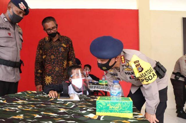 Brimob Polda Aceh Launching Program BRAIN