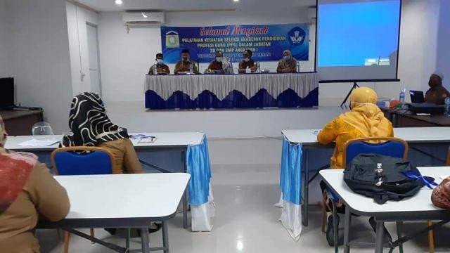 Asisten II Pemkab Aceh Besar Buka Pelatihan PPG Angkatan I