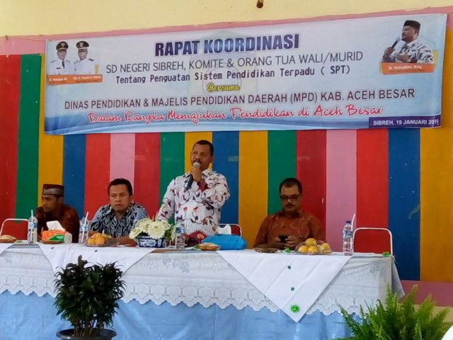Kadisdikbud Aceh Besar Tetap Komitmen Menjalankan Program SPT