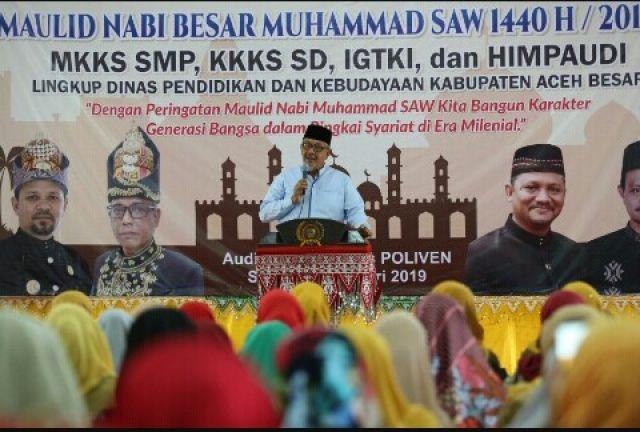 Menteri Senior PAN-RB Apresiasi SPT Disdikbud Aceh Besar