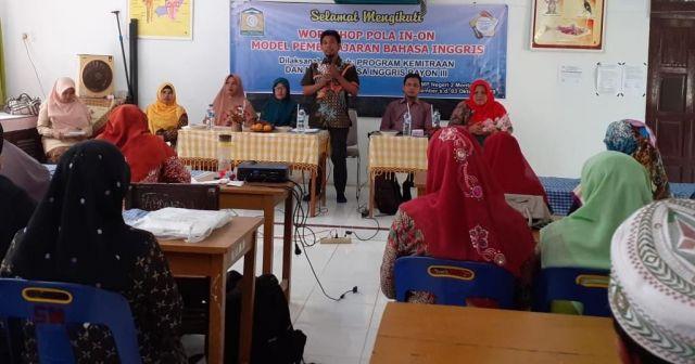MGMP bahasa Inggris Abes gelar Workshop Model Pembelajaran
