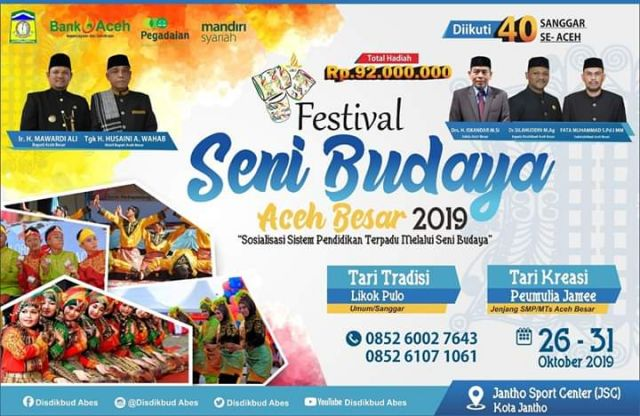 Festival Seni Budaya, Zaimah, M.Si : Pendaftaran Sampai 30 September