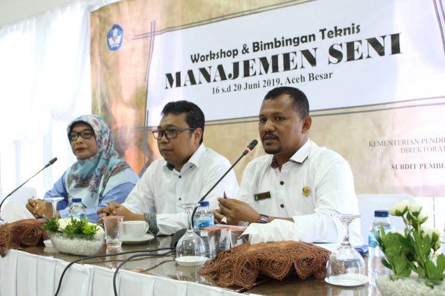 Kadisdikbud Aceh Besar Tutup Bimtek Manajemen Dan Seni Budaya
