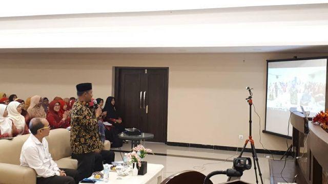 Kadisdikbud Aceh Besar Buka Workshop dan Evaluasi Program Kemitraan