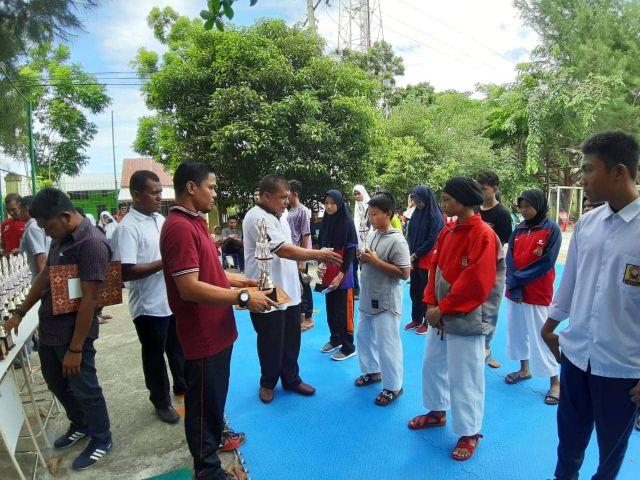 Disdikbud Aceh Besar Gelar O2SN SMP Tingkat Kabupaten