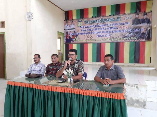 FLS2N Jenjang SMP Tingkat Kabupaten Aceh Besar Digelar
