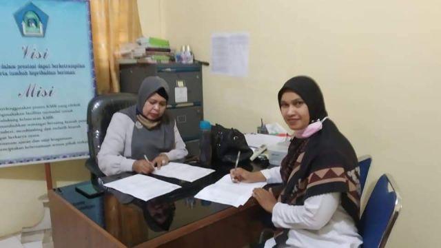 SMPN 1 Indrapuri Salah Satu Sekolah Sasaran Pendampingan Literasi