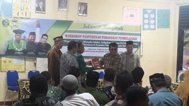 Fakultas Tarbiyah UIN Ar-Raniry Kerjasama dengan  Disdikbud Aceh Besar Lakukan Baksos