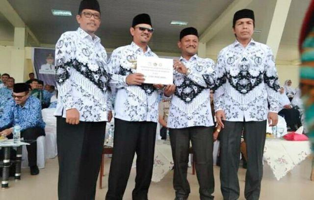 PGRI Aceh Besar Kumpulkan 205 juta untuk Korban Gempa Palu