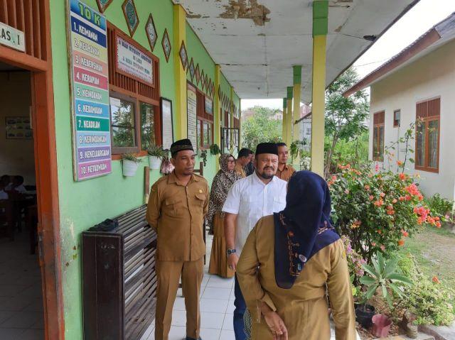 Ketua DPRK Aceh Besar Kunker ke SDN 2 Klieng