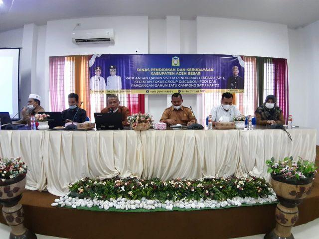 Aceh Besar Bahas Raqan SPT dan Pendidikan Tahfidz