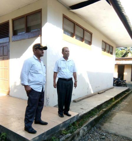 Kadisdikbud Aceh Besar Silaturahmi ke SDN  dan SMPN 1 Sukamakmur