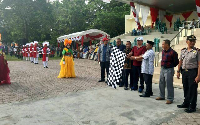 Aceh Besar Sambut HUT RI Ke-74  Dengan Gelar Pawai Karnaval Kota Jantho