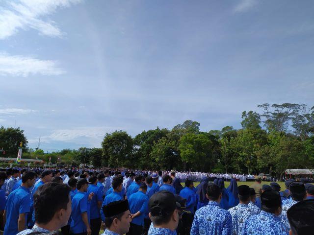 Aceh Besar Sukses Gelar Upacara HUT Ke-74 RI