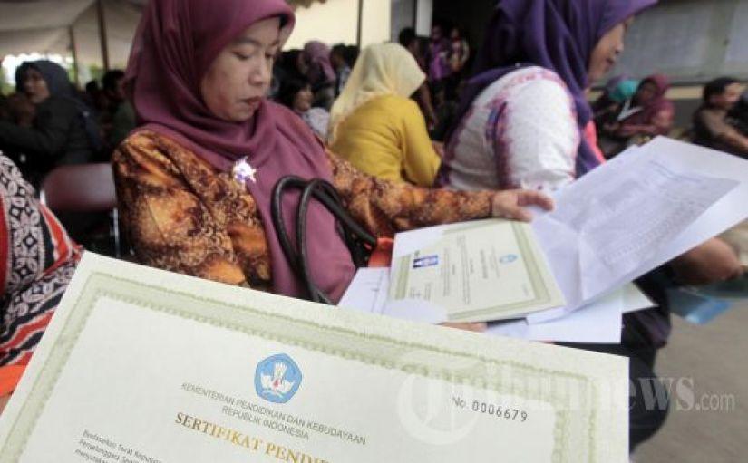 Daftar Sudah SK dan PemberkasanTunjangan Profesi Guru Triwulan 1 Tahun 2017